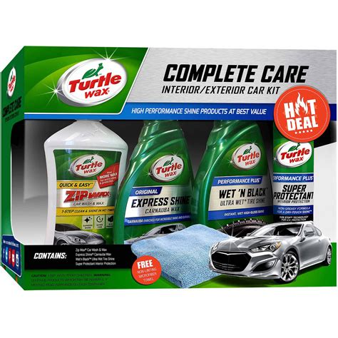 turtle wax complete car kit only 9 99 regular 21 49