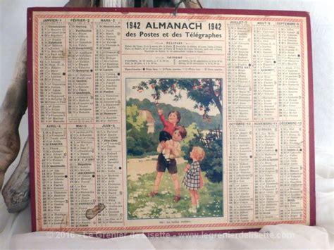 Armoire A Linge 1942 by Vendu Almanach Des Postes Et T 233 L 233 Graphes 1942 Le