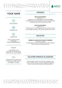 Resume Templates Moo by 1000 Ideas About Creative Cv Design On Pinterest