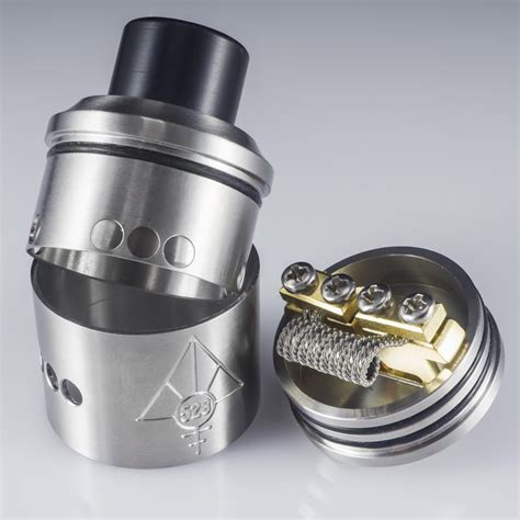 528 Custom Vapes Goon Rda 24 Rda Atomizer Gold Clone Sku02194 buy the authentic goon rda by 528 custom vapes at redjuice