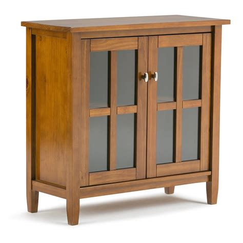 Low Storage Cabinet Low Storage Cabinet In Honey Brown Axwsh009