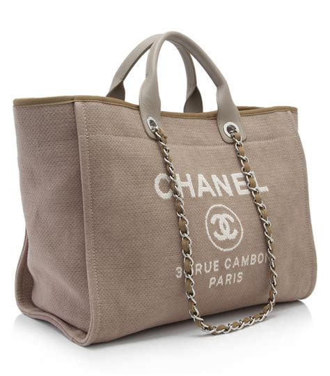 Chanel Deauville Shopping Tote Bags 972 durable totes for summer 2016 spotted fashion