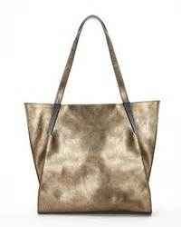 Handbag Find Of The Day Jano By Anja Flint Bag by Kooba Carmine Metallic Leather Totegold Gold Where To