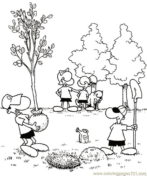 Coloring Book Pages Environment | environment coloring page 08 coloring page free