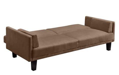 walmart metro futon dhp metro futon brown tan walmart ca