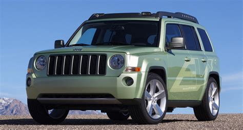 jeep range of vehicles chrysler shows jeep patriot ev range extended suv
