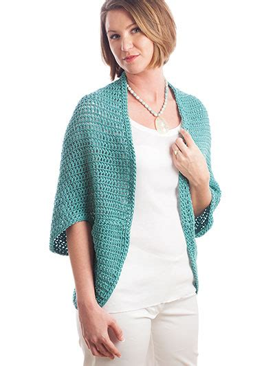 pattern for simple shrug craftdrawer crafts crochet a simple shrug pattern