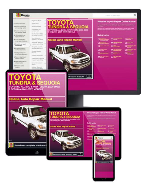 online service manuals 2009 toyota sequoia free book repair manuals toyota tundra 00 06 sequoia 01 07 online service manual