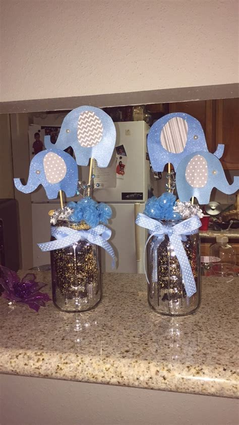 17 Best images about Baby shower elephant centerpieces for boys on Pinterest   Baby showers