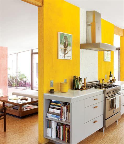 bright yellow kitchen bright yellow modern kitchen decorating envy