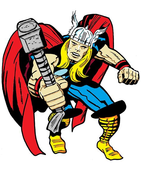 thor colors thor kirby vision