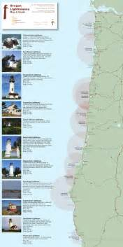 oregon coast lighthouses map get maps avenza maps