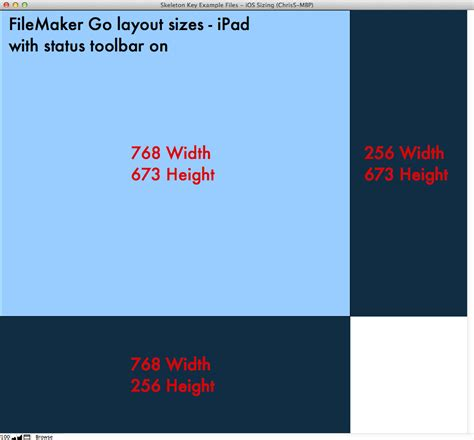 toolbar layout height creating a fundamental filemaker go layout layout sizing