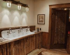 Rustic Bathroom Lighting Ideas Rustic Bathroom Lighting Ideas Home Interiors