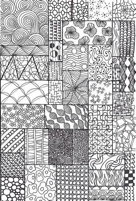 how to draw doodle patterns best 25 pattern drawing ideas on zentangle