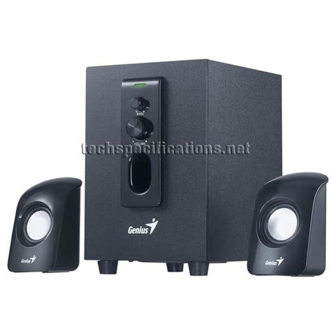 Speaker Genius genius sw 2 1 330 pc speakers tech specs