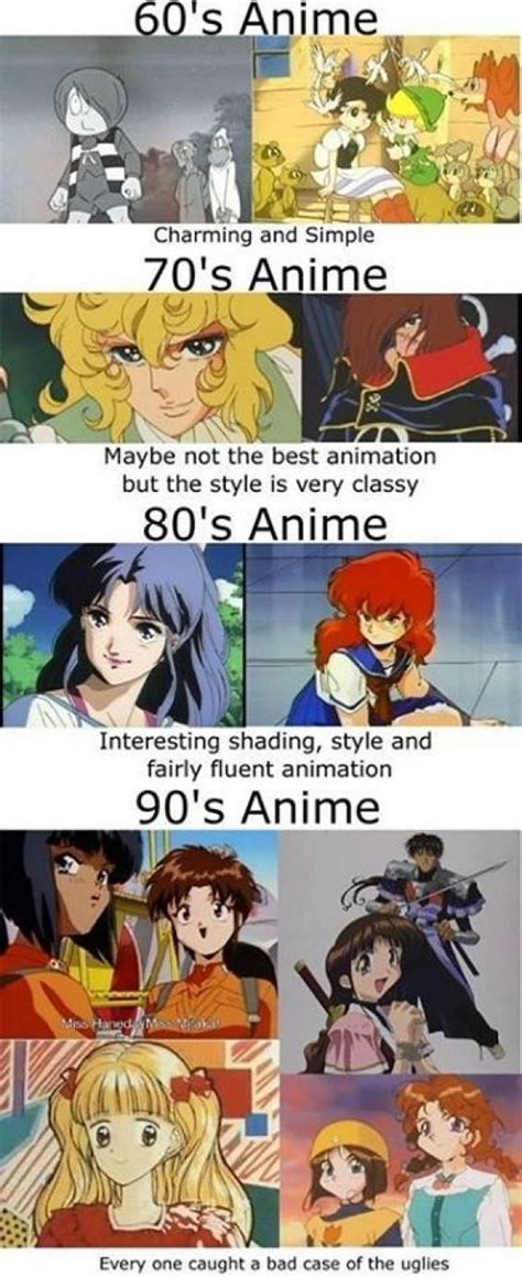 Anime 60s by 60s Amine Was The Best Lewronggeneration