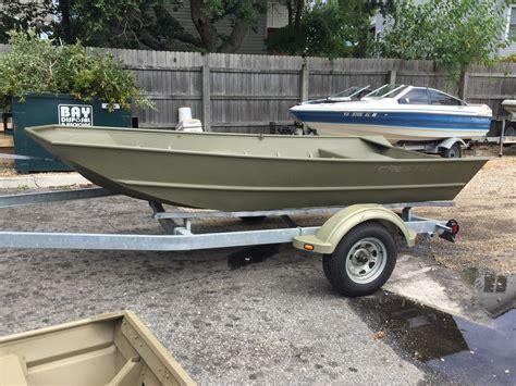 used crestliner jon boats for sale 2015 used crestliner cr 1448m jon boat for sale 4 995