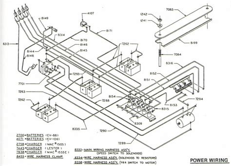 club car wiring diagram gas a special series for those here is an exle of a circuit that you