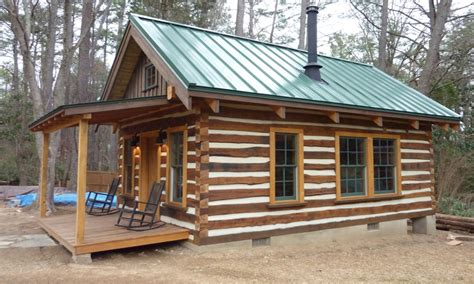 Plans For Small Cabin by Building Rustic Log Cabins Small Log Cabin Plans Building