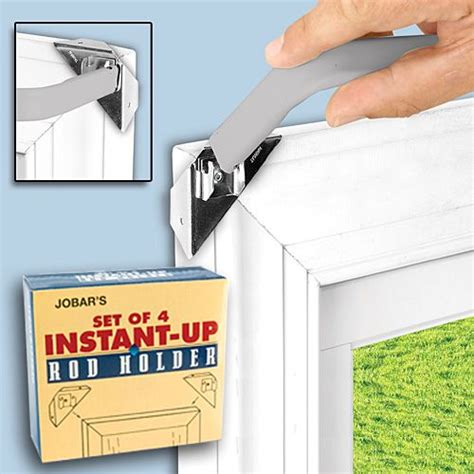 curtain rod without nails pin by elaine mcpherson on products i love pinterest