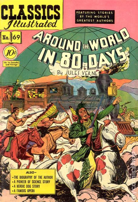 Around The World In 80 Days Classics Illustrated Ebooke Book classics illustrated 069 around the world in 80 days 1950 comic books