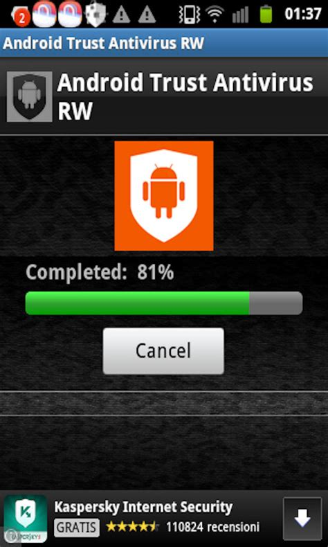 antivirus for android phone android trust antivirus rw free android app android freeware