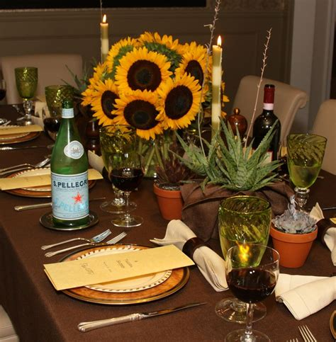 16 Best Italian Dinner Party Ideas Images On Pinterest Italian Table Decorations