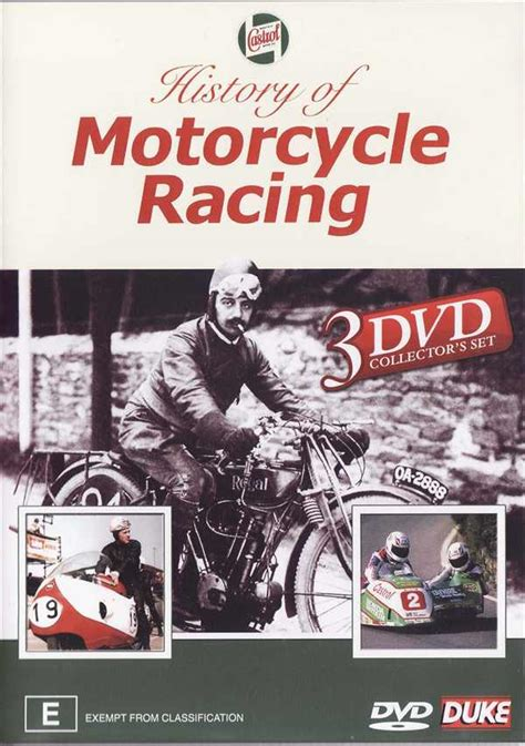 history of motocross racing history of motorcycle racing 3 set duke dvd motociclo