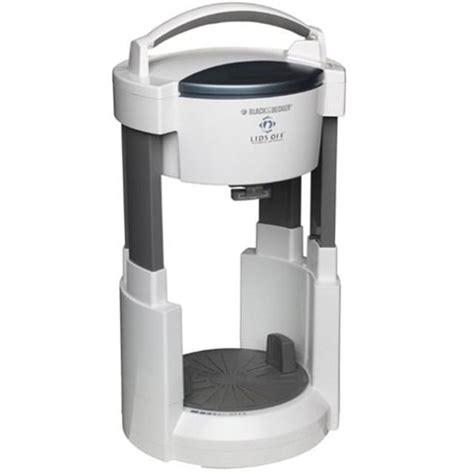 black and decker kitchen appliances black decker automatic jar opener lids off appliances