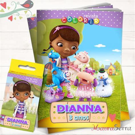 0905 doutora brinquedos kit c 2 moldes por r3270 lembran 231 a anivers 225 rio doutora brinquedos elo7