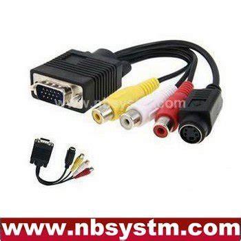 Harga Kabel Rca Ps3 vga svga untuk s 3 av komposit rca dari tv out kabel