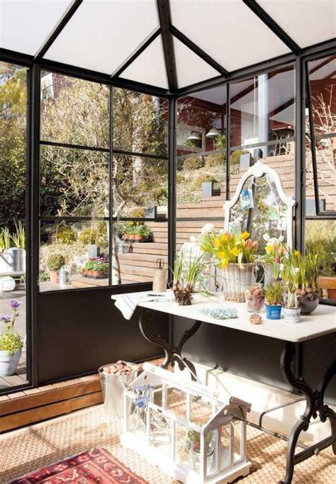 kostenguenstige ideen fuer die wintergarten gestaltung