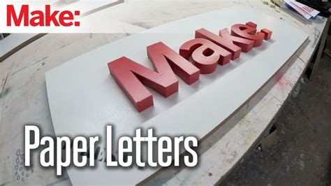 How To Make Paper Letters 3d - diresta paper letters