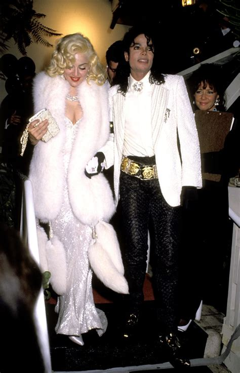 Iconic Gowns Set Stylish Tone For Oscars by Michael Jackson And Madonna Attended An Academy Awards