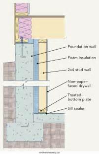 how to insulate basement basement insulation details