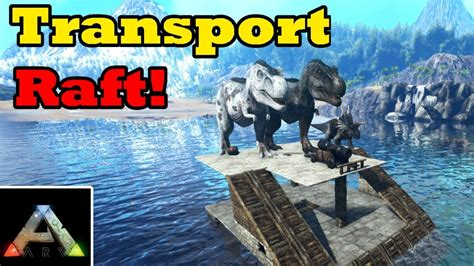ark boat carrier ark transporter boat tutorial how to build a carrier