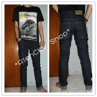 Kets Denim Hitam 011 Diskon Galeri Kick Denim