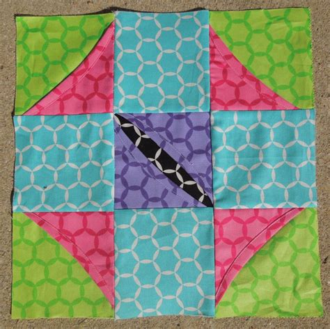 Cathedral Window Quilt Directions by Free Pattern Cathedral Window Quilt Along Block Six