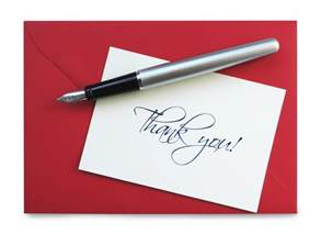 etiquette is the handwritten thank you note