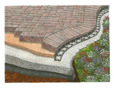 patio edging paver brick edging barrier paver edging eight 8 pack 53 6