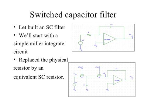switched capacitor low pass filter capacitor switched filter 28 images anti aliasing low pass bessel filters continuous and
