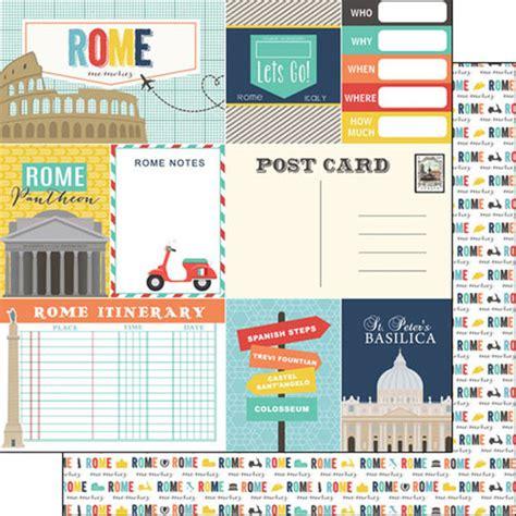 scrapbook romântico tutorial scrapbook customs travel adventure rome memories journal paper