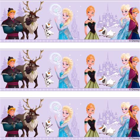 frozen wallpaper border uk frozen disney border car interior design