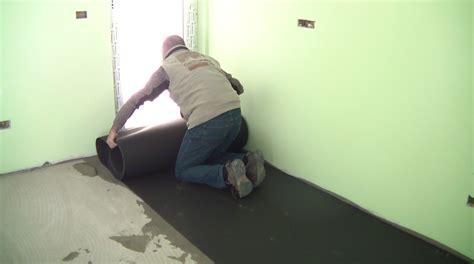 tappeto acustico isolante anticalpestio sottopavimento materassino