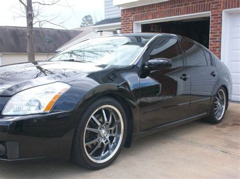 custom nissan maxima 2007 purchase used 2007 custom maxima in roanoke virginia