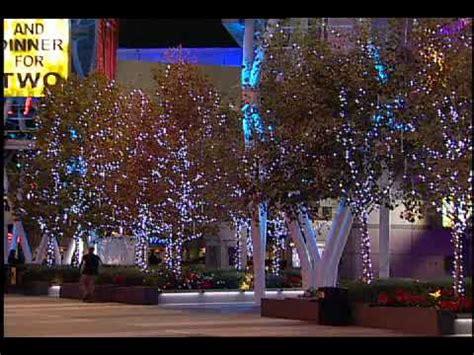 snowfall led lights australia led snowfall at la live dekra lite commercial christm