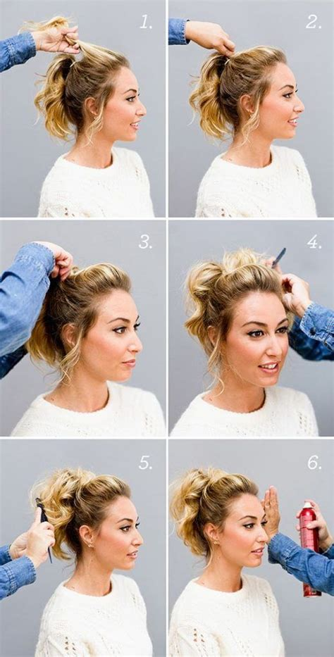 cute hairstyles put up cute ponytail styles for short hair hairstyles to try