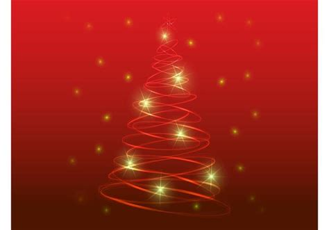 stylized christmas tree download free vector art stock