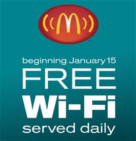 free wi fi get free internet on american delta and mcdonalds free wi fi internet at mcdonald s coupon